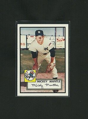 2006 TOPPS ROOKIE OF THE WEEK MICKEY MANTLE 1952 RP #311 TB
