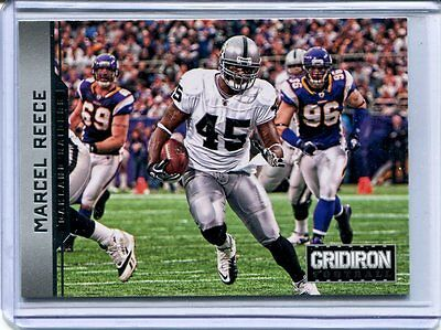 2012 GRIDIRON MARCEL REECE *ONLY* Rookie RC ~ Oakland Raiders