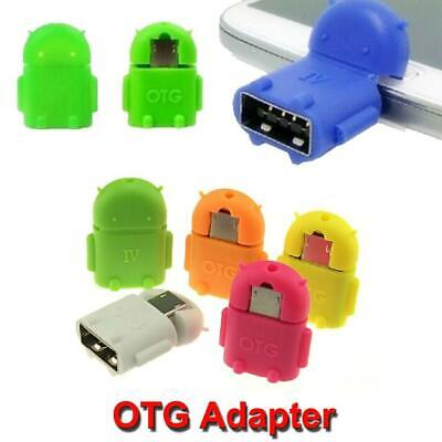 OTG To Micro USB 9pin Cable Android robot Pendant Adapter for Samsung