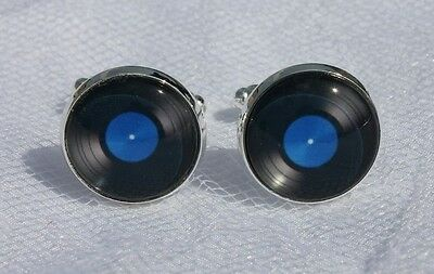 Vinyl Record Cufflinks, Great for a Wedding