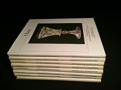 Set Of 8 Books SMITHSONIAN LIBRARY OF ANTIQUES By Cooper-Hewitt Museum
