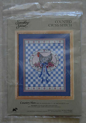 Something Special Counted Cross Stitch Kit Country Hen 50451Candamar Designs