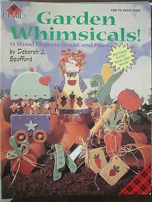 GARDEN WHIMSICALS! #9204 by Deborah J Spofford Tole Painting 15 Projects 1996
