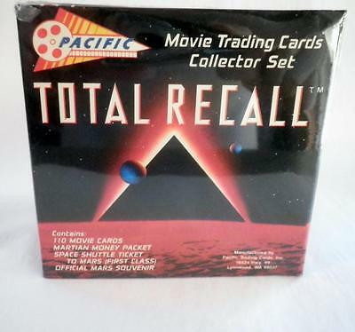 TOTAL RECALL New FACTORY BOX SET 110 CARDS 1990 PACIFIC Arnold Schwarzenegger