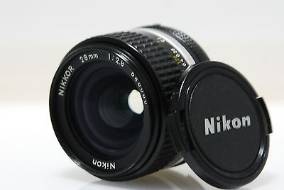 Exc+++ Nikon NIKKOR 28mm f/2.8 Ai-S Lens 28 mm 2.8 Ais Made in Japan MF