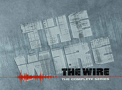 The Wire  (2011) The Complete Series 23-Disc DVD Newest  * Brand New *