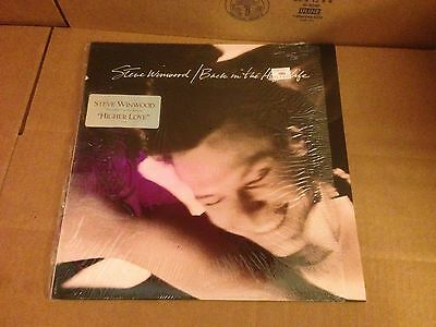 STEVE WINWOOD BACK IN THE HIGHLIFE VINYL LP *