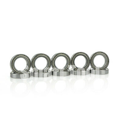 10pcs Ball Bearing 6802ZZ 15x24x5mm Metal Shielded Deep Groove 6802Z Bearings