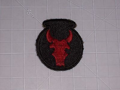 PATCH WW2 ARMY 34th INFANTRY DIVISION CUTEDGE SSI PERIOD ORIGINAL no melt no glo
