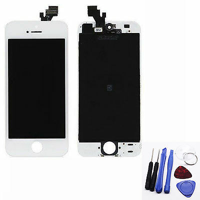 Replacement LCD Display Screen Touch Digitizer Assembly for Apple iPhone 5 White