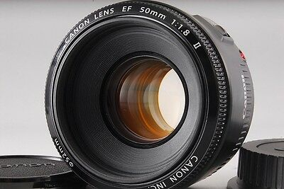 *Excellent* Canon EF 50mm F1.8 II #116 From Japan