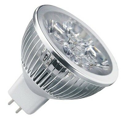 AC/DC 12V-24V 4W 4 x 1W Cluster LED Light Bulb MR16 GU5.3 Bi Pin - Low Voltage