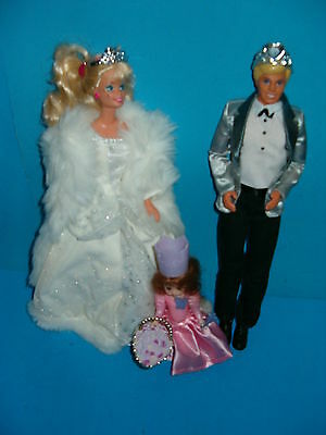 BARBIE WEDDING PARTY,KEN,BARBIE,5 INCH DOLL,CLOTHES AND ACCESSORIES