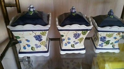 Oriental Canisters by Capriware
