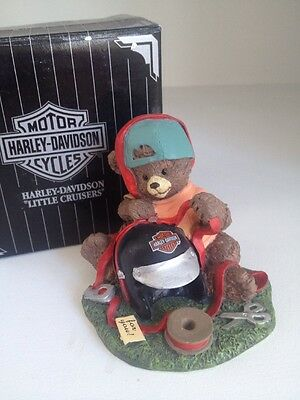 """Harley Davidson Little Cruisers Figurine Collectible """"I Wrapped It Myself """" 3010"""