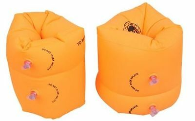1 Pair Beach Swimming Floater Inflatable Swim Arm Band Swimming Band Floaters