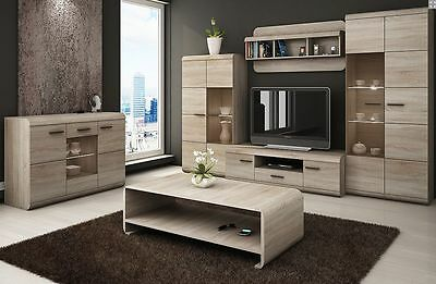 TV Wall Unit LUCANO,living room,different parts,LEDs,FREE DELIVERY VIKAFURNITURE