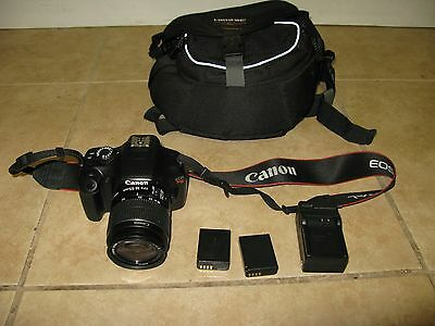 CANON EOS REBEL T3 12.2 MP DS126291 CANON EF-S 18-55MM LENS