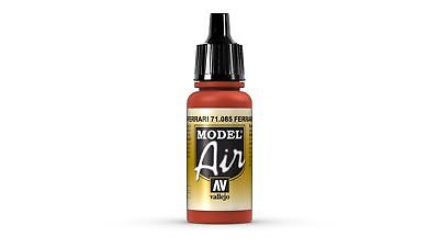 Vallejo MODEL AIR Color: Italian Red - colore acrilico 17 ml