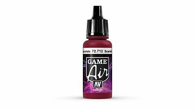 Vallejo GAME AIR Color: Scar Red - colore acrilico 17 ml