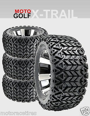 Discounted GOLF CART TIRE and WHEEL COMBO PACK -  23x10.5x12 Radial - Club Car
