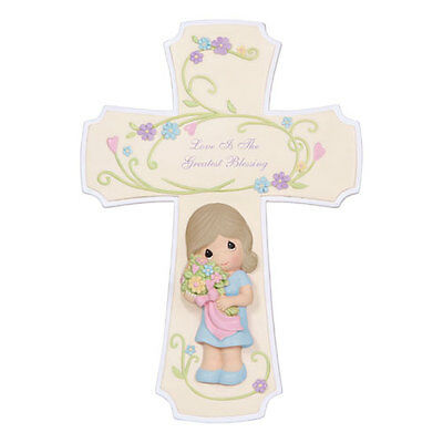 Precious Moments Love Is The Greatest Blessing, Cross 124101 NIB