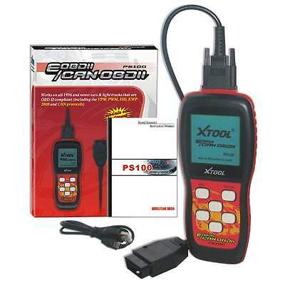 Original XTOOL PS100 CAN OBDII/EOBDII OBD2 Code reader Auto Scanner PS 100