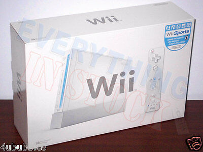 Nintendo Wii White Console with Wii Sports (NTSC) - Model RVL