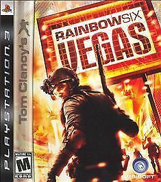 Playstation 3 PS3 Game TOM CLANCY'S RAINBOW SIX: VEGAS - Brand New/Sealed!