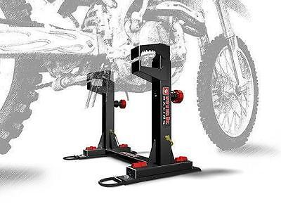 RISK RACING Quick Load LOCK N LOAD STRAPLESS Transport SYSTEM MX ENDURO VAN BIKE