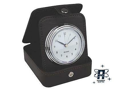 Retro Style Feats Of Endurance Travel Clock New In Gift Box
