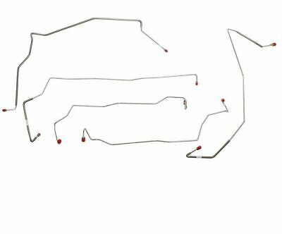 02-04 F250/F350 4wd, Crew Cab, 8' Bed, AWABS; Complete Brake Line Kit; Stainless