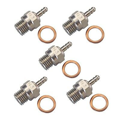 5pcs HSP 70117 Super Spark Glow Plug No.3 N3 Hot for RC Nitro Engines Car Truck