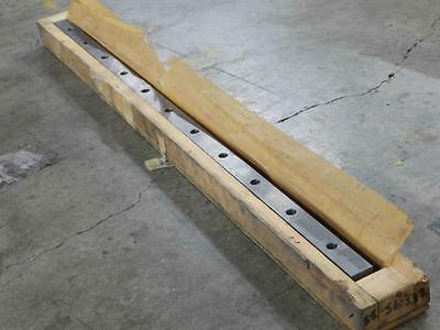 "Linear Rail  L shape 34"" long 1-1/2"" x 1-1/2 x 1 x 1/2 Bored 3"" center SHCS"
