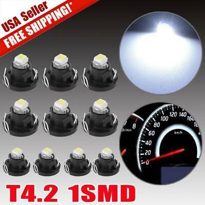 20X White T10 1206 SMD LED Interior Dome Map Instrument Panel Light Bulb 192 194