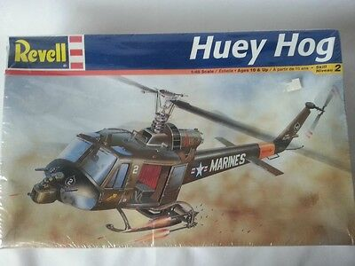 2004 Revell Huey Hog Bell UH-1C 1:48 Scale Model Kit New In Shrink Wrap