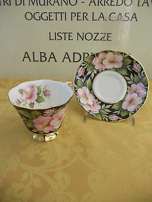 12 Tazze Te' Con Piatto Royal Albert (Made In England) Provincial Flowers