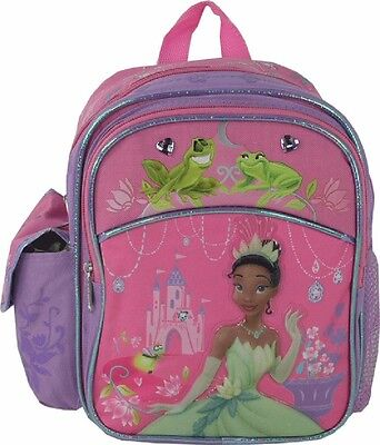 Disney the Princess and the Frog Girls Kids Mini 10'' Backpack School Book bag