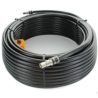 Wilson 951100 100 ft. RG11 Cable with F Connectors(F-male - F-male) 951100
