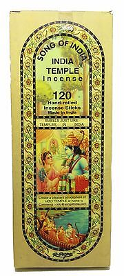 India Temple Incense Sticks - by Song of India [Choose Bulk Size]