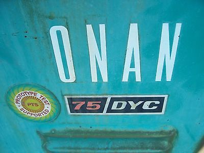 Onan 75 KW generator power unit