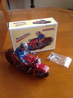 Motorbike Retro Toy for Adult Collectors Only