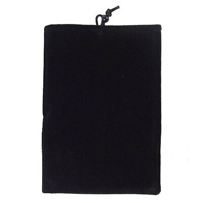 Black Soft Flannelette Bag Pouch Case Cover FOR Apple iphone ipod itouch hot new