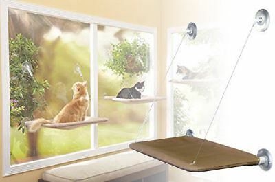 Window Mounted Cat Bed Sunny Seat Pet Wall Home Suction Cover