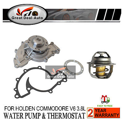 Holden Water Pump Commodore V6 VN VP VR VS VT VU VX VY 1988-7/2004 3.8L 6cyl