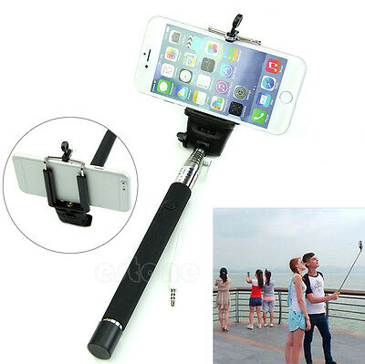Popular Extendable Handheld Selfie Stick Monopod For Iphone Samsung Phone Camera