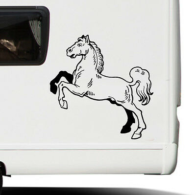 Horse sticker decal transfer art trailer motorhome graphic eq3