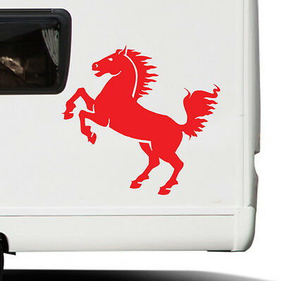 Horse wall sticker equestrian vehicle decal eq1