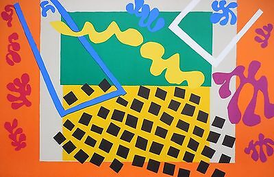 """Henri MATISSE - """"Les Codomas"""" - From the lithographs set """"JAZZ"""", 1947"""