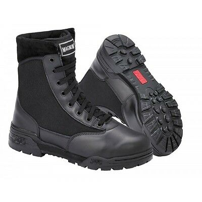 Genuine Magnum Original Classic Boots Black Combat Police Uniform Security Cadet